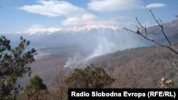 Пожар на Галичица