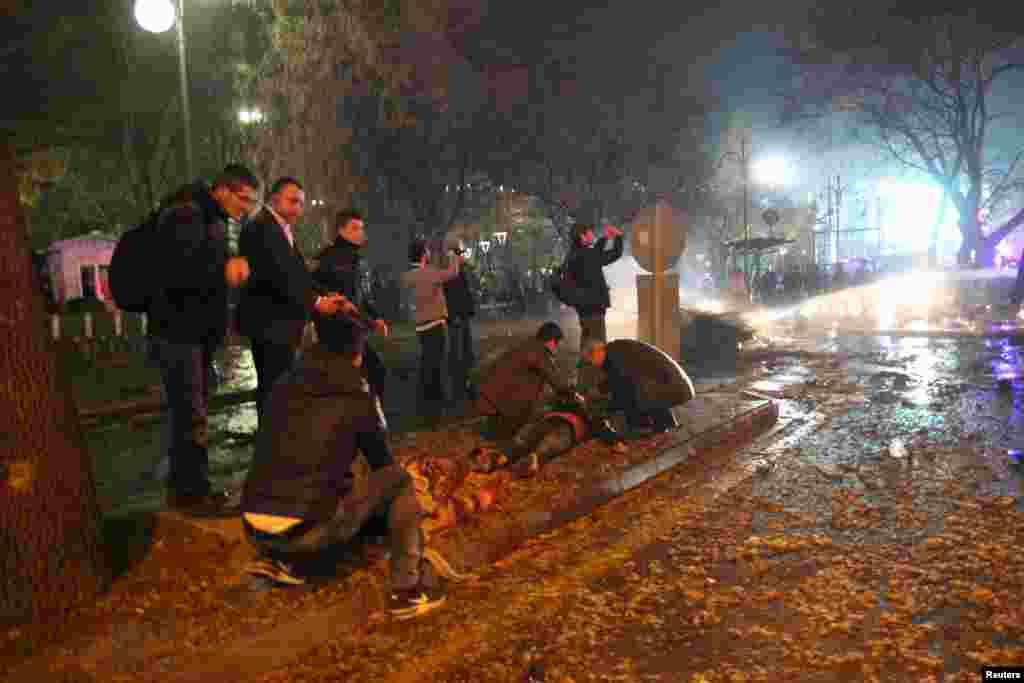 При взрыве погибли почти 40 человек