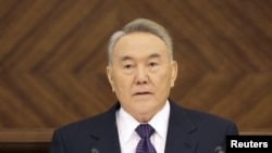 Президент Казахстана Нурсултан Назарбаев. Астана, 28 января 2011 года.