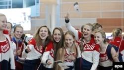 Російські олімпійці-спортсмени