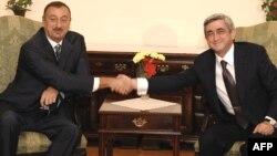 Մոլդովա - Հայաստանի և Ադրբեջանի նախագահների հանդիպումը Քիշնևում, 8-ը հոկտեմբերի, 2009թ․