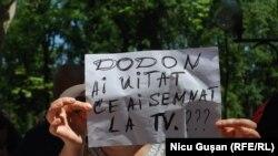 La protestele de la Chișinău