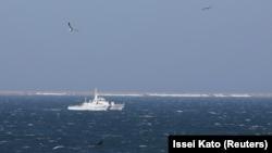 Корабль в Японском море. Иллюстративное фото.
