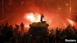 إحتجاجات ومواجهات في مصر
