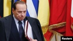 سیلویو برلوسکونی، نخستوزیر ایتالیا.