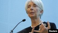 Дырэктарка Міжнароднага валютнага фонду Крысьцін Лягард