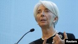 Кристин Лагард, глава Международного валютного фонда.