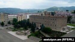 Լեռնային Ղարաբաղ - Տեսարան մայրաքաղաք Ստեփանակերտից