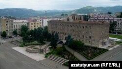 Столица Нагорного Карабаха Степанакерт