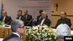 هیئت مذاکرهکننده ایرانی در مسکو در سال ۲۰۱۲