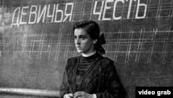 """Кадр из фильма """"Тучи над Борском"""", 1961"""