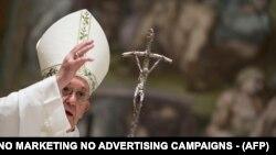 Папа Франциск у своєму зверненні з нагоди Великодня попросив миру у всьому світі