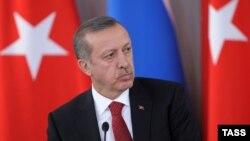 Премиерот на Турција, Реџеп Таип Ердоган.