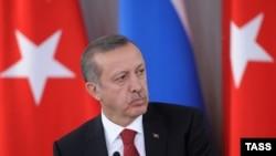 Премьер-министр Турции Реджеп Тайип Эрдоган. 22 ноября 2013 года.