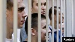 """Фигуранты """"Болотного дела"""" в суде"""