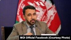 نجیب دانش سخنگوی وزارت داخله افغانستان