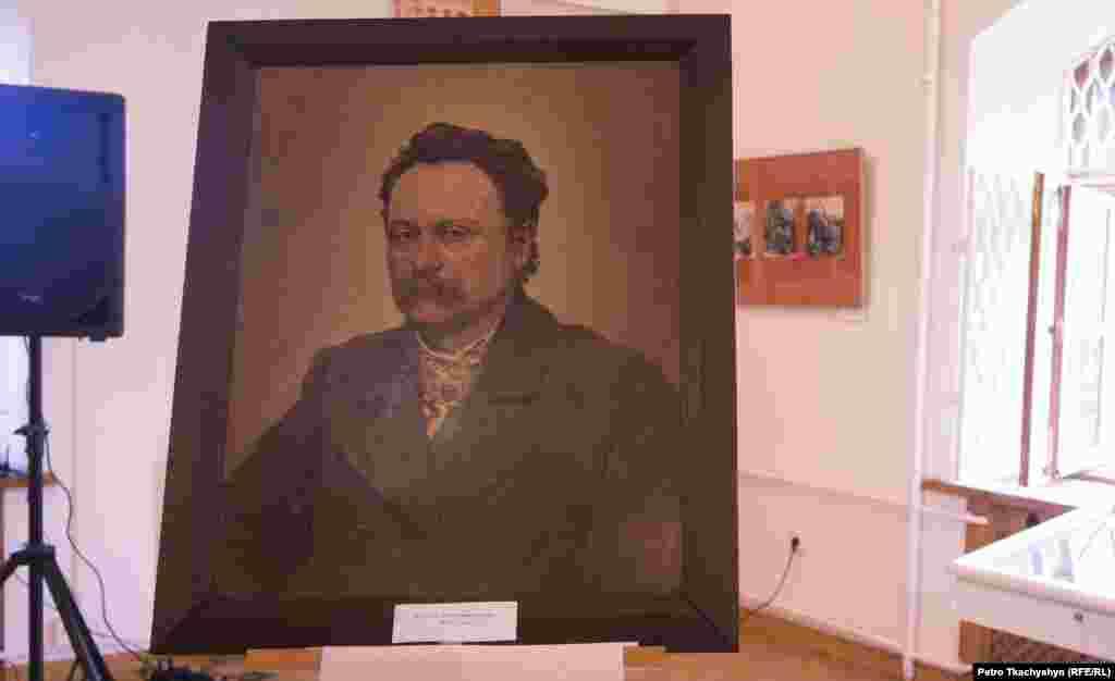 Портрет Івану Франку, виконаний Іваном Трушем в 1903 році