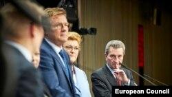 Бюджетът на ЕС за 2020 г. е последният на бюджетния комисар Гюнтер Йотингер, който напуска Европейската комисия в края на месеца