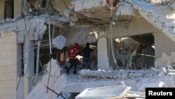 Руйнування в провінції Ідліб, Сирія