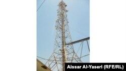 النجف برج اتصالات