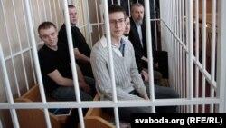 Суд над Андрэем Саньнікавым, на якім сьведчыў Алесь Бяляцкі