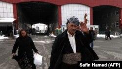 Iransko-irački granični prelaz u Kurdistana nakon ponovnog otvaranja početkom januara
