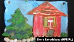 Georgia--Abkhazia, Hand-made articles of children with limited opportunities, 5Jan2015