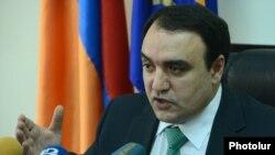 Cекретарь Совета национальной безопасности Армении Артур Багдасарян (архив)