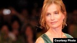 Fransız aktrisası Isabelle Huppert.