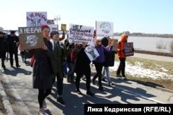 Монстрация в Омске
