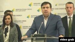 Украина -- Керлан ницкъийн болам кхоьллина Саакашвилин агIончаша.