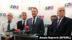 Bakir Izetbegović u Novom Pazaru