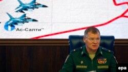 ایگور کوناشنکوف، سخنگوی وزارت دفاع روسیه