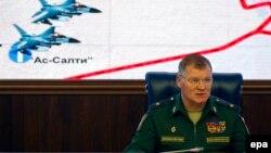 İttihamları Rusiya Müdafiə Nazirliyinin sözçüsü general İqor Konaşenkov səsləndirib