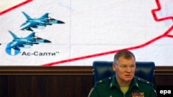 Официальный представитель министерства обороны России Игорь Конашенков.