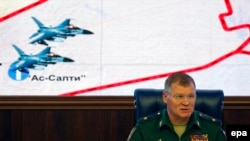 Представитель министерства обороны России Игорь Конашенков
