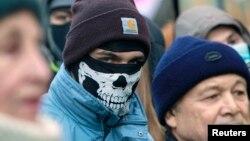 معترضان به دولت اوکراین