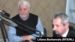 Părintele Vlad Mihăilă și sociologul Doru Petruți