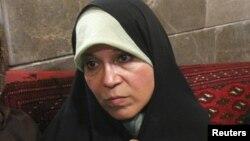Файза Рафсанджани. Тегеран, 28 маусым 2009 жыл