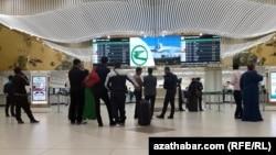 Международный аэропорт, Ашхабад, май,2018