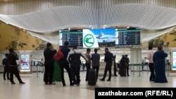 Международный аэропорт Ашхабада (архивное фото)