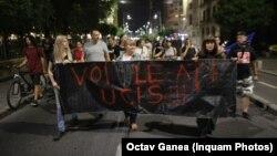 Protest la București față de incompetența autorităților în cazul Caracal.