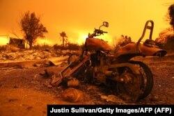 Наступствы пажару ў Рэдынгу, Каліфорнія, 27 ліпеня