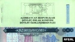 Özəlləşdirmə çekləri