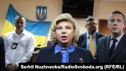 Татьяна Москалькова в суде в Киеве, архивное фото
