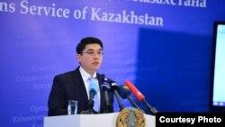 Посол по особым поручениям, официальный представитель министерства иностранных дел Казахстана Алтай Абибуллаев.