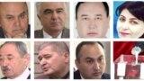 Представители партий, подтвердивших свое согласие на участие в дебатах на Радио Озоди