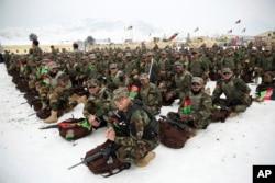 Спецназ Национальной армии Афганистана. Январь 2020 года