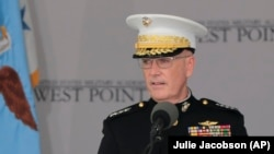 U.S. General Joseph Dunford, chairman of the Joint Chiefs of Staff (file photo)