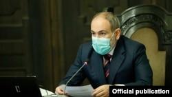 Премьер-министр Армении Никол Пашинян, 13 июля 2020 г.
